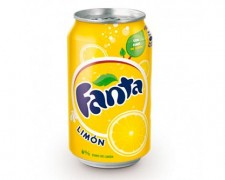 Fanta limon lata 0,33